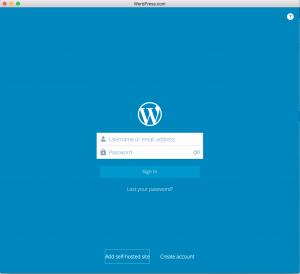 wordpress.com App