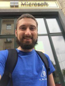 Florian bei Microsoft
